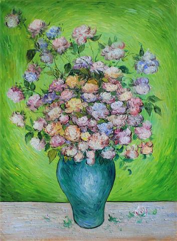 Bouquet Of Flowers In A Vase Vincent Van Gogh Flowers Healthy